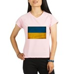 Ukraine Flag Performance Dry T-Shirt
