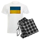 Ukraine Flag Men's Light Pajamas