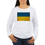 Ukraine Flag Women's Long Sleeve T-Shirt