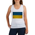 Ukraine Flag Women's Tank Top