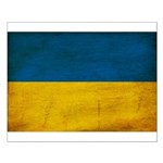 Ukraine Flag Small Poster