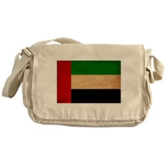 United Arab Emirates Flag Messenger Bag
