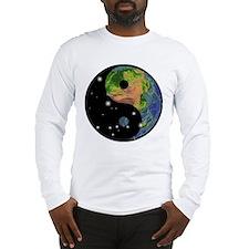 Yin Yang Earth Space Long Sleeve T-Shirt