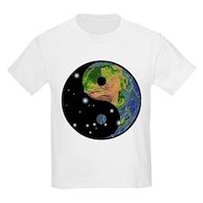 Yin Yang Earth Space T-Shirt