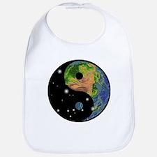 Yin Yang Earth Space Bib