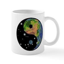 Yin Yang Earth Space Mug