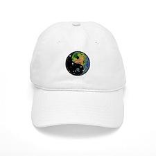 Yin Yang Earth Space Baseball Cap