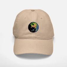 Yin Yang Earth Space Baseball Baseball Cap