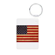 United States Flag Keychains