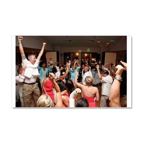 """Giant 20""""x12"""" Party Magnet"""