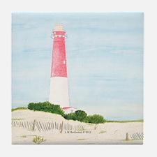 Barnegat Lighthouse Tile Coaster