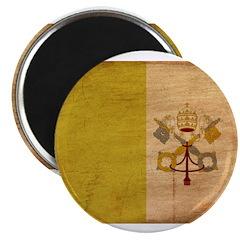 "Vatican City Flag 2.25"" Magnet (100 pack)"