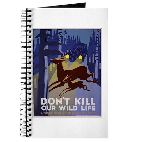 Wild Life WPA Poster Journal