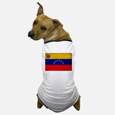 Venezuela Flag Dog T-Shirt