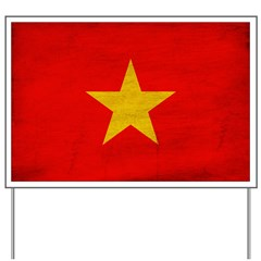 Vietnam Flag Yard Sign