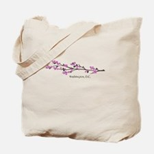 Washington, DC Cherry Blossom Tote Bag