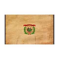 West Virginia Flag 38.5 x 24.5 Wall Peel