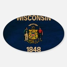 Wisconsin Flag Decal