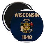 Wisconsin Flag 2.25
