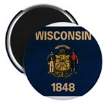 Wisconsin Flag Magnet