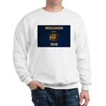 Wisconsin Flag Sweatshirt
