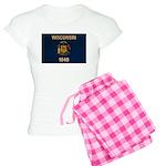 Wisconsin Flag Women's Light Pajamas