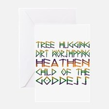Tree Hugging Greeting Card