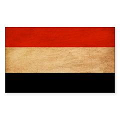 Yemen Flag Decal