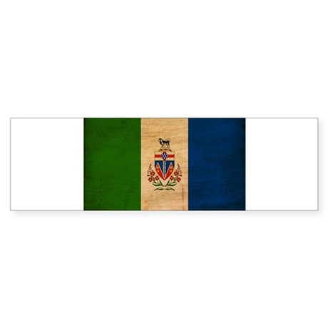 Yukon Territories Flag Sticker (Bumper)
