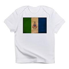 Yukon Territories Flag Infant T-Shirt