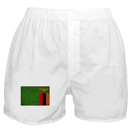Zambia Flag Boxer Shorts