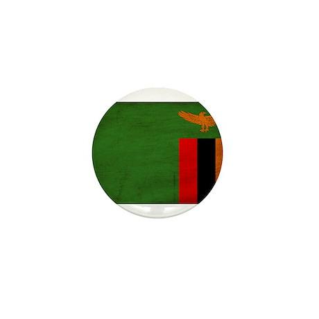 Zambia Flag Mini Button (100 pack)