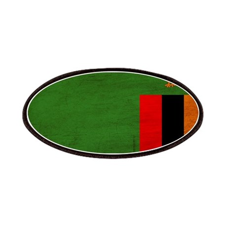 Zambia Flag Patches