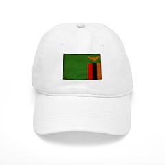 Zambia Flag Baseball Cap