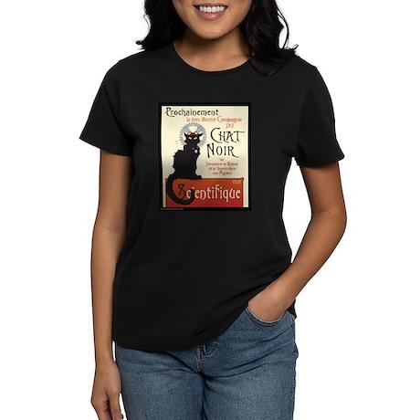 Chat Scientifique Women's Dark T-Shirt