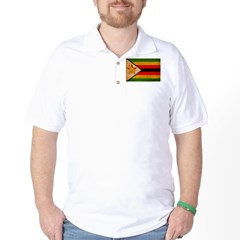 Zimbabwe Flag Golf Shirt