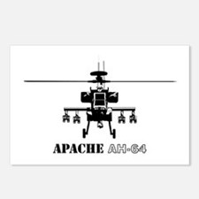 Apache AH-64D Postcards (Package of 8)