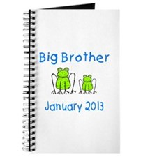 Big Brother Frogs 0113 Journal