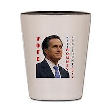 Vote Mitt Romney 2012 Shot Glass