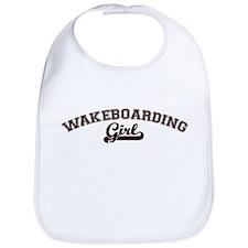 Wakeboarding girl Bib