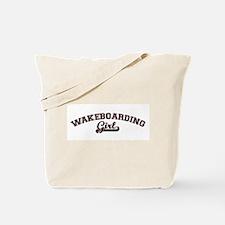 Wakeboarding girl Tote Bag