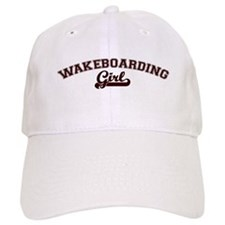 Wakeboarding girl Baseball Cap