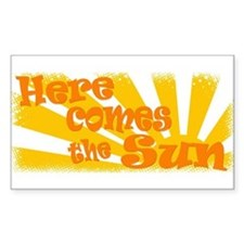 Here Comes the Sun Decal