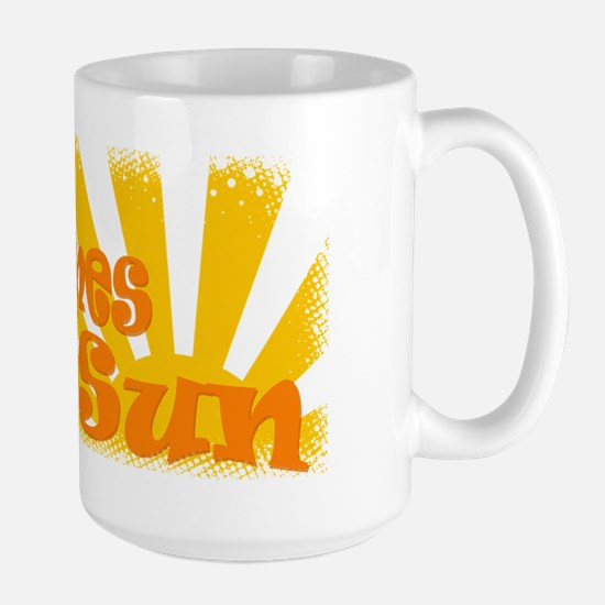 Here Comes the Sun Large Mug