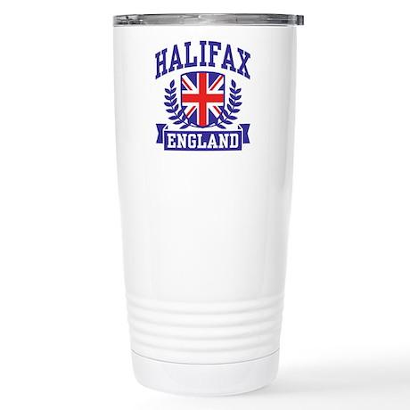 Halifax England Stainless Steel Travel Mug