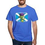 Thistle on flag Dark T-Shirt