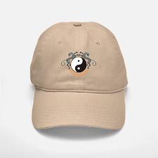 Yin Yang Symbol Baseball Baseball Cap
