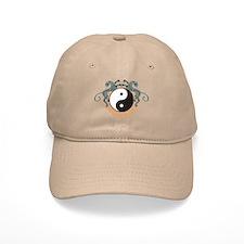Yin Yang Symbol Baseball Cap
