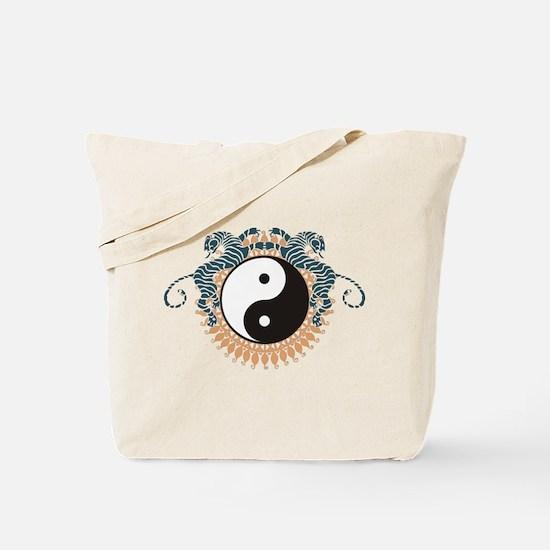 Yin Yang Symbol Tote Bag
