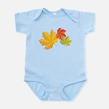 Three Leaves Infant Bodysuit